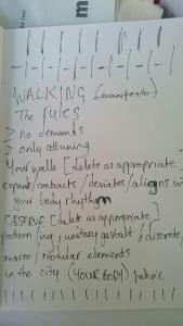 walking manifesto